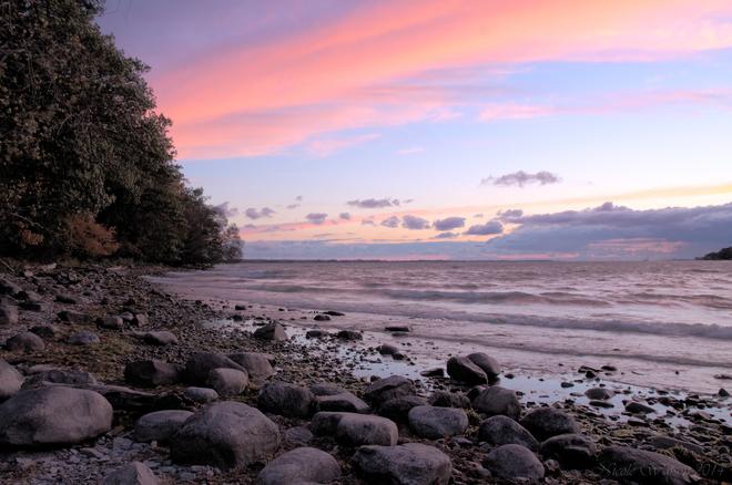 Lemoine's Point at sunset Kingston, ON