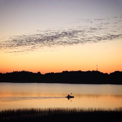Fall Florida Sunset