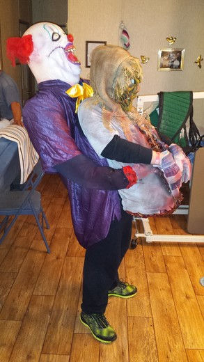 Halloween clown illusion!