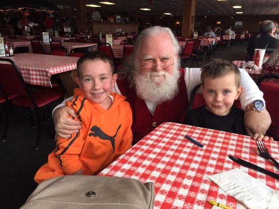 Santa spotted at Newicks!