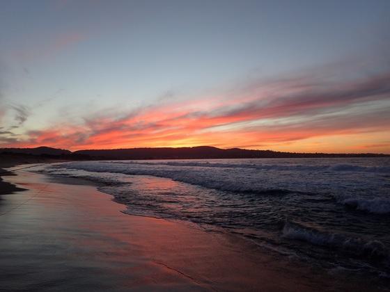 The Beautiful Monterey Bay(Sunset) RG