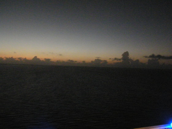 Sky Shots from Cruise Feb 1 - 8, 2015