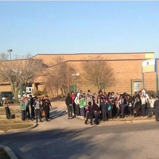 Kipp Renaissance Students Protest