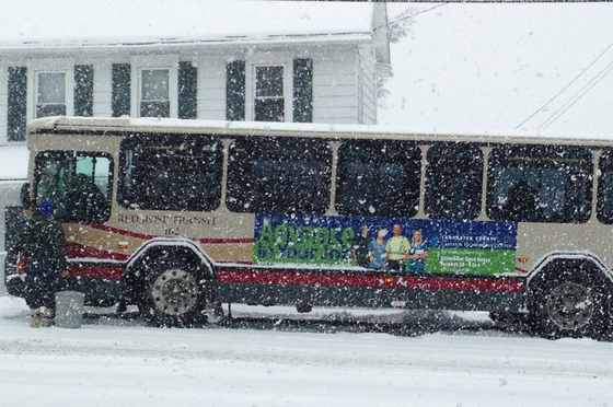 CTC Bus stuck in Mountville