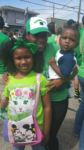 St.Patrick parade, Location:in Metairie on Severn &Johnson