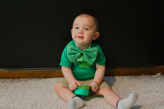 Jeter's 1st St. Patrick's Day
