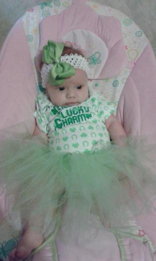 Addalyn Faith First St. Pattys Day