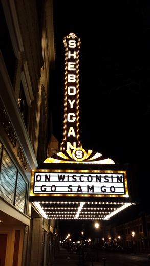 Sheboygan supports Sam Dekker and Wisconsin Men's Basketball.