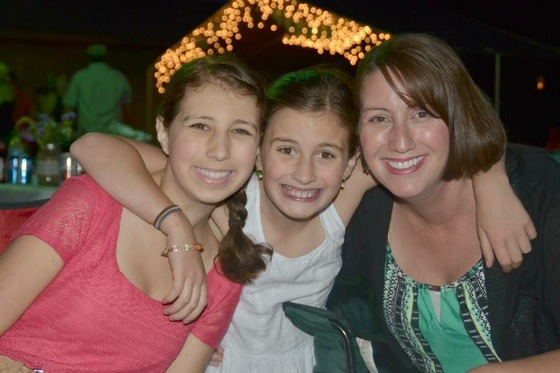 My mom, me & my girls:)