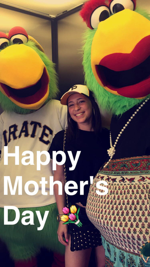 Mother's Day Bucs Game