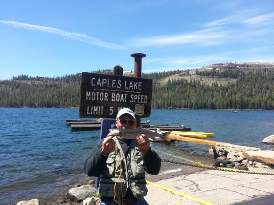 Community caples lake fishing and lake level for Caples lake fishing report