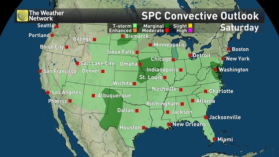 news article southern plains braces severe weather