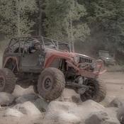 4X4 mud drag
