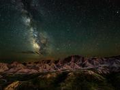 Night Skies Winner   Badlands National Park