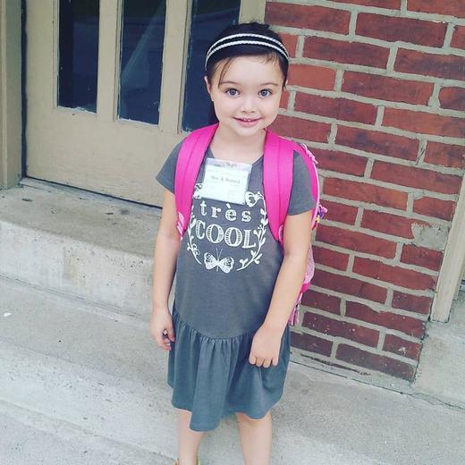 Bella's First Day of Kindergarten!