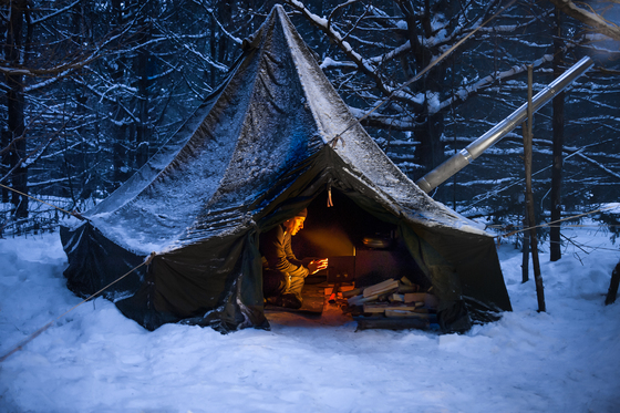 4a. Winter camping