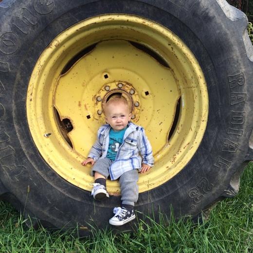 Future Lancaster County farmer !