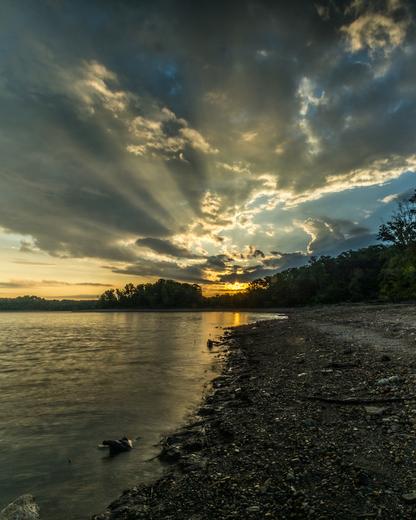 Caesar Creek Sunrise