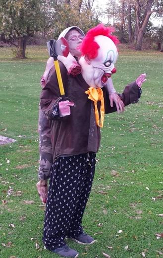 Halloween illusion costume