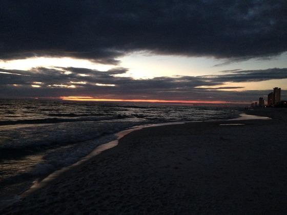 Sunset in Panama City Beach