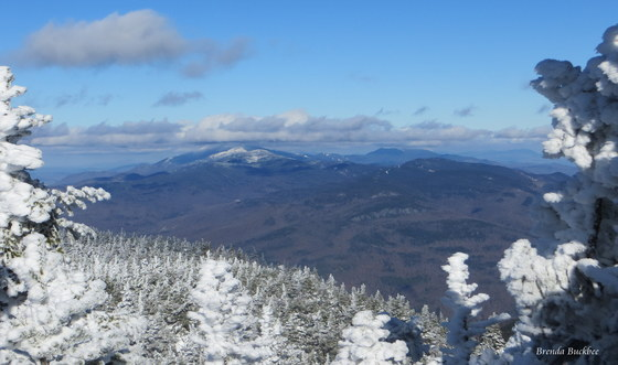 Mt Mansfield from Camels Hump