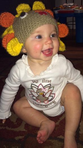 Charlotte the turkey!!
