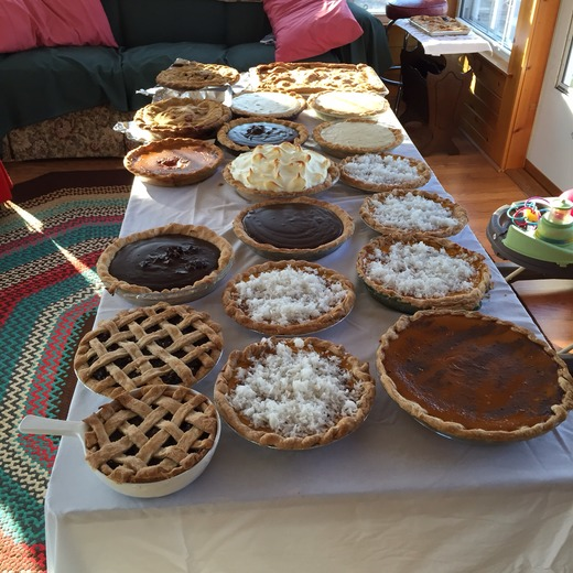 Pies anyone?  Happy Thanksgiving from the Girard's