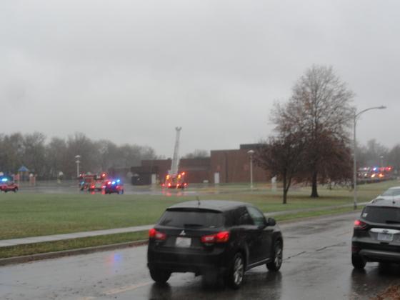 Fire At Blackbob Elementary School