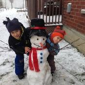 Bonhomme de neige!!!