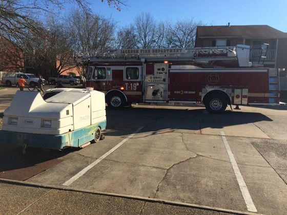 Gas Leak In Jackson Apartment Complex