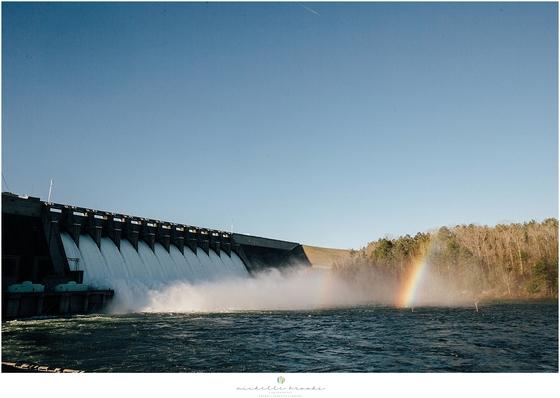 Hartwell Dam Spillway Release