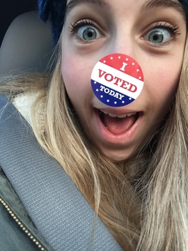 First time voter .