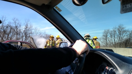 Vehicle Fire 222 North