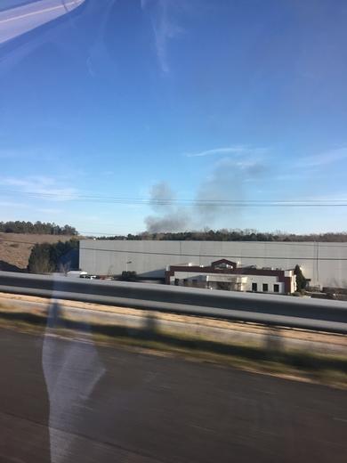 Fire in Mauldin