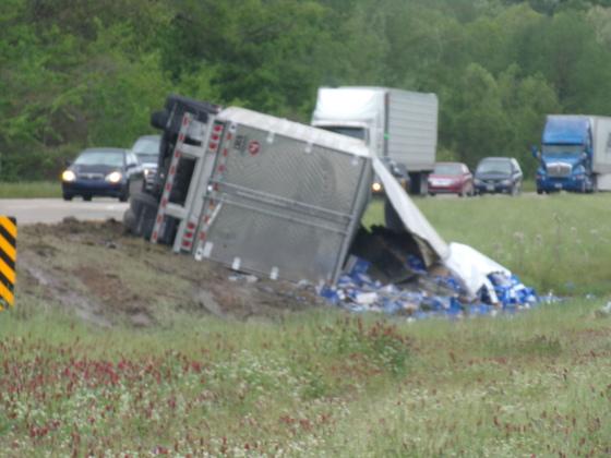 Beer Truck Accident