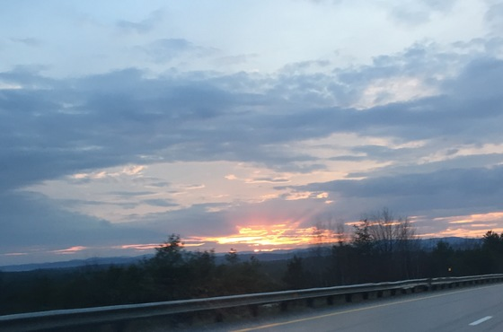 Sunset 4/22