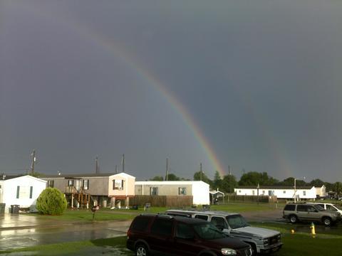 rainbow , near the houma  airport