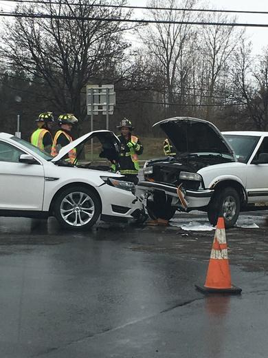 Accident in Plattsburgh