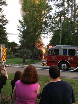 Fire flower estates Covington la
