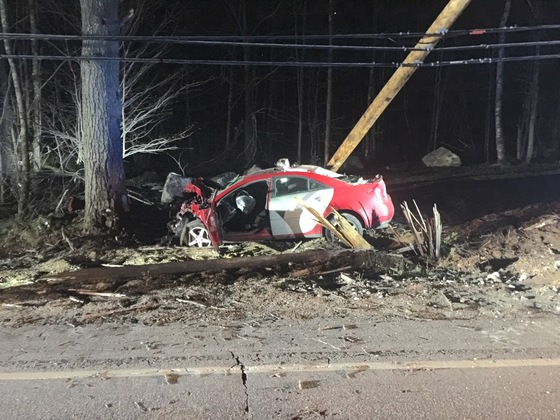 Rt.202 in Hollis, 911 was called at 10:24pm