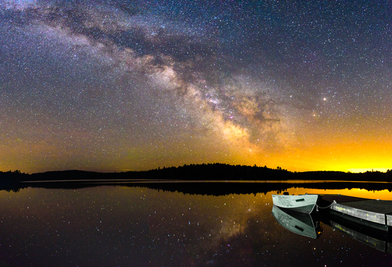 3c. Algonquin Milky Way reflection