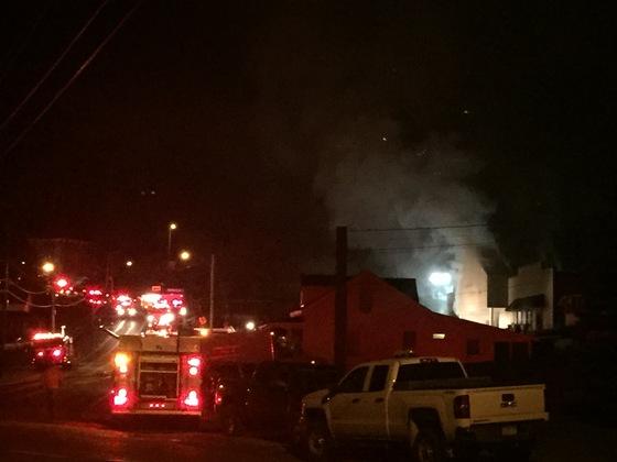 Dollar General Fire, Port Henry NY