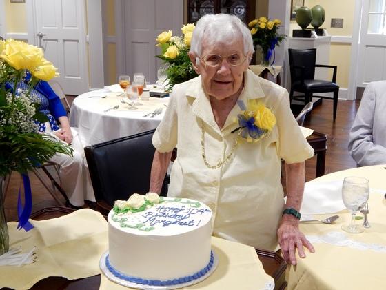 Margaret Lander-Scheibler Turns 104 Years Young!