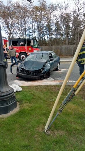 Marstons Mills Accident Woman Medflighted