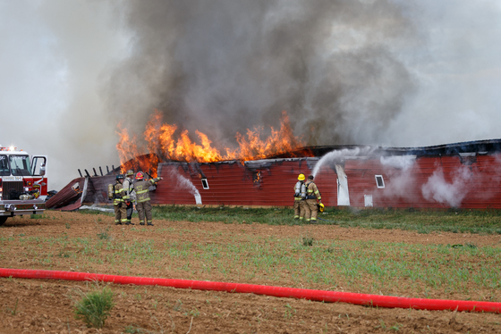 Salisbury Township Chicken House Fire