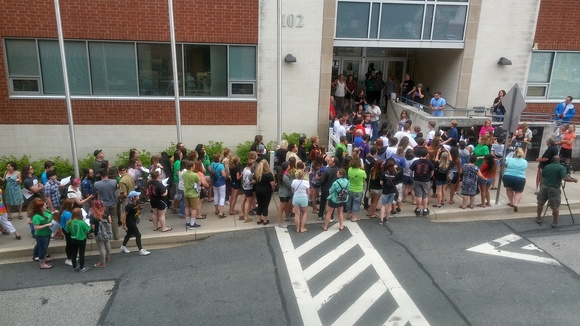 HCPS pay to play protest grows larger