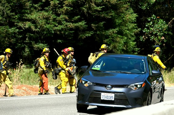 June 27th Highway 17 fire