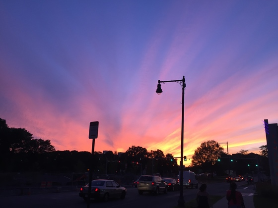 Sunset Near Fenway