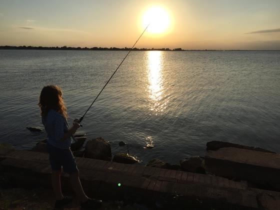 Community fishing at lake hefner for Lake hefner fishing