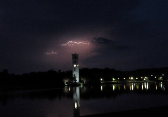 Lightning at Furman